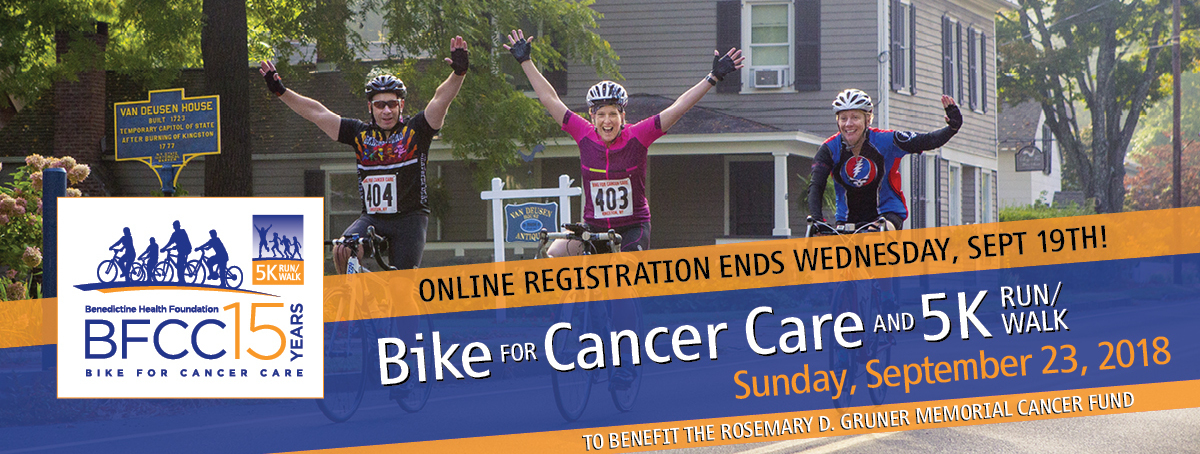 Bike for Cancer Care & 5K Run/Walk